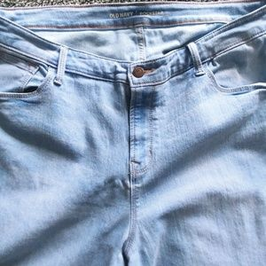 Old Navy light Wash Skinny Jeans sz 18